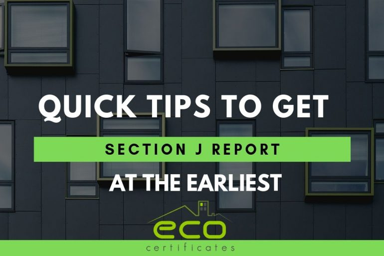 Quick Tips to get Section J Report at the Earliest