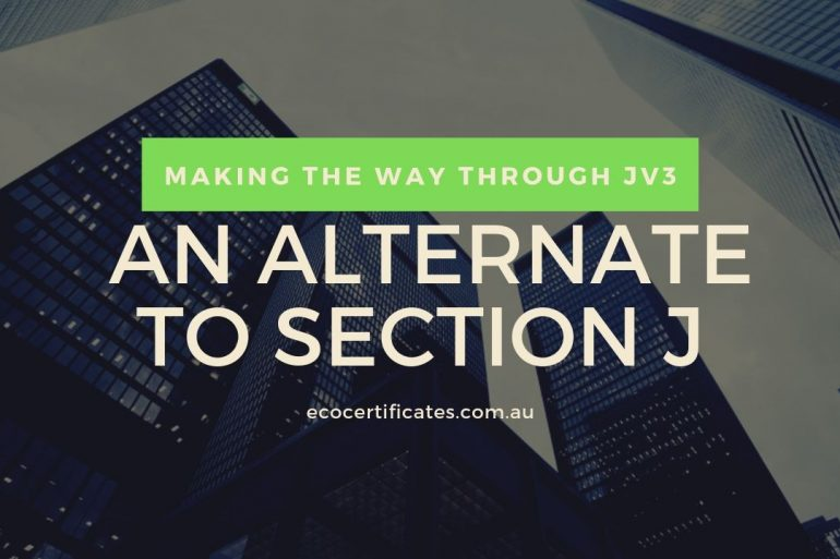 Making The Way Through JV3: An Alternate To Section J